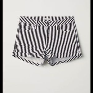 H&M stripe shorts